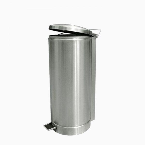 stainless-steel-litter-bin-c/w-pedal