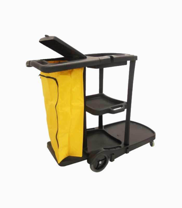 black-janitor-cart
